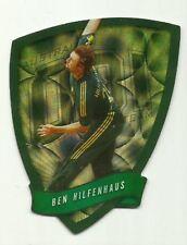 Cricket Australia Select 2009/10 DIE CUT FDC30 BEN HILFENHAUS ODI TEAM CARD ACB
