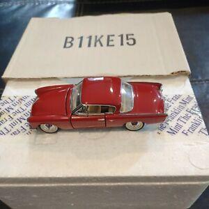 Franklin Mint 1953 Studebaker Commander - Rust Red B11KE15 Original box - 1:43