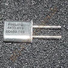 5 x cuarzo 4.433619 MHz hc49 u Philips hc49/u 5pcs