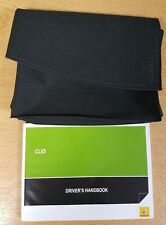 RENAULT CLIO OWNERS MANUAL HANDBOOK WALLET+SERVICE SECTION 2009-2012 # F-784