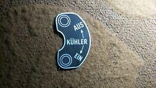 Typenschild Schild Horch Einheits pkw Kühler Ein Aus Wehrmacht WW WK 2 S50