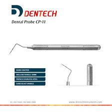 Sondas CP-11 periodontal examen periodontal codificadas por color Instrumentos de Laboratorio Dental