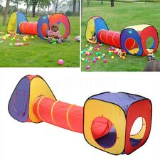 Kid Ball Pool Tunnel Toy Tent Outdoor/Indoor Game Children Ocean Play House Set