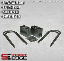 "Street Edge 4"" Aluminum Lowering Blocks w/2* Angle 82-04 S10/Sonoma/S15/Blazer"
