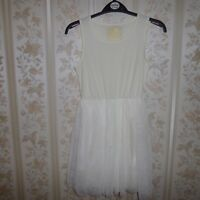 YD Primark  Ivory Cream girls dress age 11-12 years