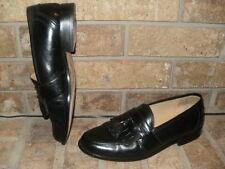 Johnston & Murphy Black Kiltie Tassel Loafer 7.5 M / Nice