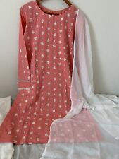 Embroidered Size medium Mirror Work Pakistani Shalwar Kameez