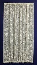 "New Stunning Ivory/Cream Dynasty 48"" x 72"" French Door/ Side Light  Lace Panel"