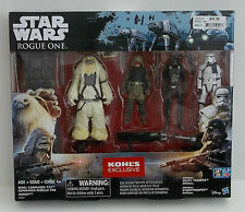 Star Wars Rogue One Kohl's Exclusive Figure Pack Pao Moroff Imperial Troopers