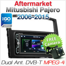 Car DVD Player GPS DVB-T TV Mitsubishi Pajero Stereo Head Unit Radio MP3 CD TU