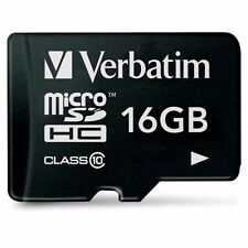 Verbatim 16 GB MicroSDHC Speicherkarte