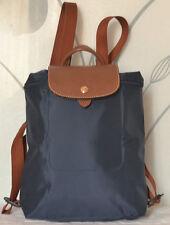 New Longchamp Le Pliage Backpack Blue