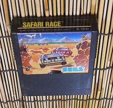 SEGA SG-1000 SC-3000 SAFARI RACE - JAPAN JP