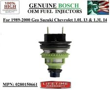 #0280150661 OEM Bosch Fuel Injector -98-99-00 Chevrolet Metro 1.0L I3 Rebuilt 1x