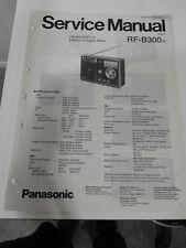 ORIGINAL PANASONIC RF-B300 SERVICE MANUAL