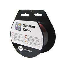 10m Lautsprecher Kabel Lautsprecherkabel Monster Cable transparent Kupfer 0,75mm