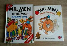 Mr Men And Little Miss Annual (1996)/Story Treasury (2007) Hardback Book x 2