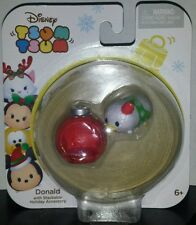Tsum Tsum Donald Duck Disney New Holiday Christmas Ornament Stackable Pack 2016