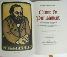 Crime and Punishment by Fyodor Dostoevsky   Easton Press Leather 1980