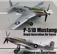 WWII P-51D Mustang Australia air force aircraft 1/72 plane no diecast Easy model