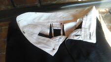 RICK OWENS COUTURE BLACK SILK PANTS
