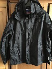 Mens Tresspass Jacket XS Black Packaway