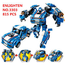 815 pcs Kids Building Toys Blocks Boys DIY Puzzle Transformers  ENLIGHTEN 3303