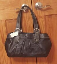 Coach Womens Soho Black Leather Tote - Coach F13732 black - Authentic NEW w/tags