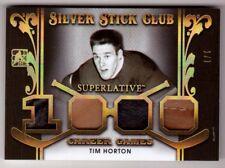 TIM HORTON 17/18 Leaf ITG Superlative Leather Glove/Skate Patch #d 1/1 GOLD SP