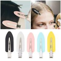 No Bend Crease Hair Clips Pin Curl Clips Makeup Bangs Hairpin Girl Women C7M4