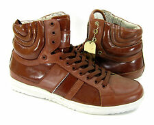 J75 By Jump Shoes Fender Hi Strap Athletic Brown Sneakers Size 9.5