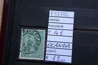 FRANCOBOLLI STAMPS N°41 OLANDA USATI ( F57792)