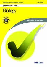 Biology Credit SQA Past Papers by Leckie & Leckie (Paperback, 2006)