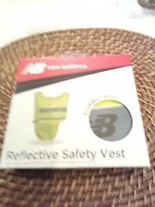 New Balance Reflective Safety Vest