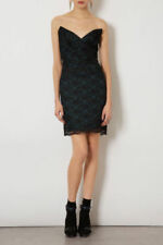 Topshop Black Dresses Lace