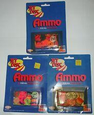 Rayline Vintage Tracer Gun Ammo Jet Disc Disks Pack.Original, USA Made 3packs