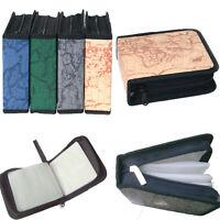 40 CD DVD Disc Storage Holder Carry Case Organizer Wallet Cover Bag Box Album
