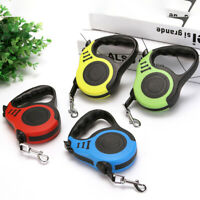 5M Automatic Retractable Pet Walking Lead Leash Dog Extending Traction RopeJ md