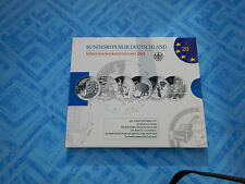 10 Euro Silber Gedenkmünzenset 2011 in Spiegelglanz