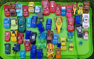 50 + Disney cars lightening mcqueen Diecast Cars bundle