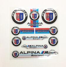Decal Sticker Interior&Exterior Badge Emblem Alpina E30 E21 E36