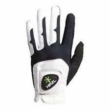 HIRZL GRIPPP FIT – Men's All-Weather Golf Glove (White/Black)   L/XL