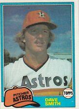 HOUSTON ASTROS DAVE SMITH 1981 TOPPS #534