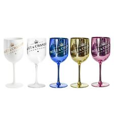 ** B Stock ** Moet Chandon Ice Imperial Acrylic Champagne Glasses -