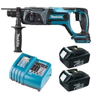 Makita BHR241RFE 18V 3.0Ah LXT Cordless Rotary Hammer Drill / 220V Charger