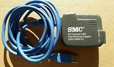 SMC EZ Connect USB Fast Ethernet Network Adapter Model 2202USB/ETH