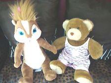 Build a Bear Brittany Chipmunks Chipettes plush doll girl 2011 classic Disney 14