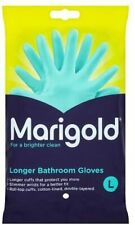 Marigold Large Rubber Gloves Blue Rubber Latex Lined