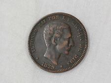 España 10 centimos 1879 Alfonso XII.