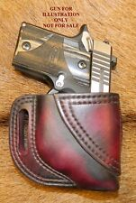 Gary C's Leather Avenger RH HOLSTER for Sig Sauer P938/ P238 with Factory Laser